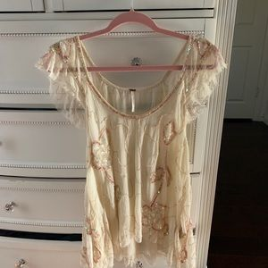 Free People sparkle top